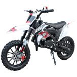 SYX-moto Kids 50CC 2-Stroke Gas Dirt Bike (Red)