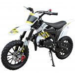 SYX-moto Kids 50CC 2-Stroke Gas Dirt Bike (Yellow)