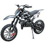 SYX-moto Holeshot Kids 50CC 2-Stroke Gas Dirt Bike (Black)