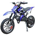SYX-moto Holeshot Kids 50CC 2-Stroke Gas Dirt Bike (Blue)