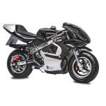 Black GBmoto 40CC 4-Stroke Kids Gas Pocket Bike Mini Motorcycle