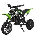 Green GBmoto 50cc Kids Dirt Bike