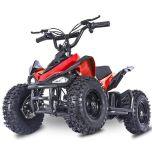 Mars-E Raptor 24V 350W ATV Electric ATV Off Road Kids ATV, Kids Quad, Kids 4 Wheelers (Red)