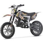 MotoTec Kids 50CC 2-Stroke Gas Dirt Bike (Yellow)