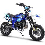 MotoTec Hooligan 60cc 4-Stroke Kids Gas Dirt Bike (Blue)