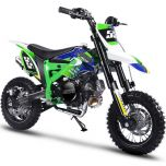 MotoTec Hooligan 60cc 4-Stroke Kids Gas Dirt Bike (Green)