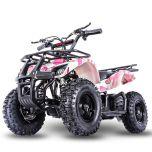 Sonora-E 24V 350W ATV Electric ATV Off Road Kids ATV, Kids Quad, Kids 4 Wheelers (Camo Pink)