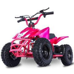 Titan 24V 350W ATV Electric ATV Off Road Kids ATV, Kids Quad, Kids 4 Wheelers (Pink)