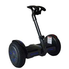 Smart Self-Balancing Electric Scooter with LED light, Portable and Powerful,  Black