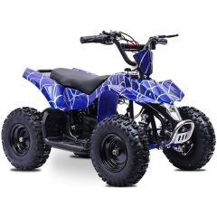 Sahara 24V 350W ATV Electric ATV Off Road Kids ATV, Kids Quad, Kids 4 Wheelers (Blue)