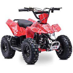 Sahara 24V 350W ATV Electric ATV Off Road Kids ATV, Kids Quad, Kids 4 Wheelers (Red)
