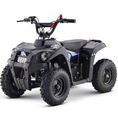 Monster-G 40cc ATV Gas Powered ATV 4-Stroke Off Road Kids ATV, Kids Quad, Kids 4 Wheelers (BLUE)