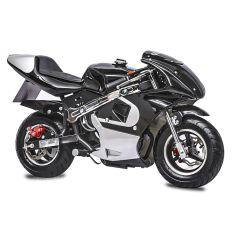 Black GBmoto 40CC 4-Stroke Kids Gas Pocket Bike Mini Motorcycle