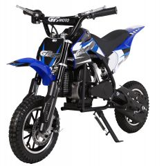 Blue GBmoto 50CC Kids Dirt Bike