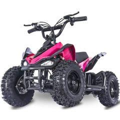 Mars-E Raptor 24V 350W ATV Electric ATV Off Road Kids ATV, Kids Quad, Kids 4 Wheelers (Pink)