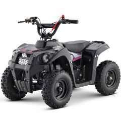 Monster-G 40cc ATV Gas Powered ATV 4-Stroke Off Road Kids ATV, Kids Quad, Kids 4 Wheelers (Pink)