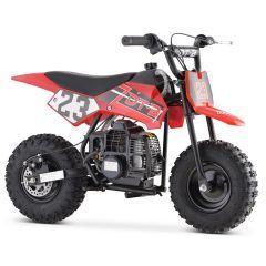 Monster-G 40cc ATV Gas Powered ATV 4-Stroke Off Road Kids ATV, Kids Quad, Kids 4 Wheelers (Red)