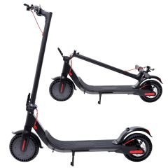 Superrio Portable Electric Scooter-350W Motor Rechargeable Folding Scooter for Teenagers and Adults with Headlight and Hand Brake