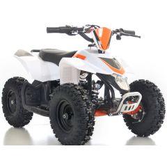 Sahara 24V 350W ATV Electric ATV Off Road Kids ATV, Kids Quad, Kids 4 Wheelers (White)