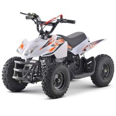 Titan-G 40cc ATV Gas Powered ATV 4-Stroke Off Road Kids ATV, Kids Quad, Kids 4 Wheelers (White)