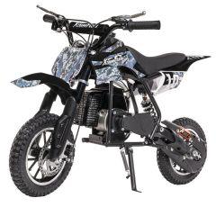 Blue 50cc Kids Dirt Bike 2-Stroke Gas Dirt Bike